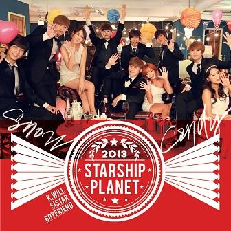 Artist: 스타쉽플래닛 Song: 눈사탕 Released: 2013.12.13 Members: K.Will, Boyfriend, SISTAR